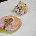 ウニタ unita うに太 ( 成増 = イタリアン ) 鶏むね肉のボイル、タラの芽ソース添え ( ランチ前菜 ) 2020/06/13