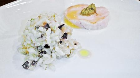 成増 ランチ イタリアン unita ウニタ お米のサラダ ( 前菜 )  2020/06/13