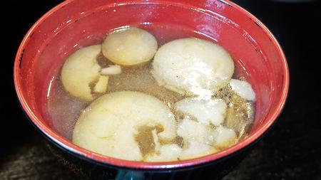 だいこん ( 練馬区旭町 or 成増 ) 味噌汁 ( 麦とろ定食 )   2020/02/15