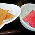 だいこん ( 練馬区旭町 or 成増 ) 小鉢二種 ( 麦とろ定食 )  2020/02/15