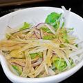 だいこん ( 練馬区旭町 or 成増 ) だいこんサラダ ( 麦とろ定食 )  2020/02/15
