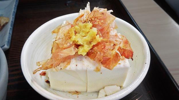 やまだや ( 成増 = やまだ食堂 ) 豆腐 ( 定食 )       2020/07/31