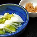 花水木 ( 成増 ) 漬け物二品  2020/06/30