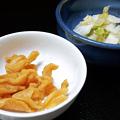 Photos: 花水木 ( 成増 ) 漬け物二品  2020/06/30