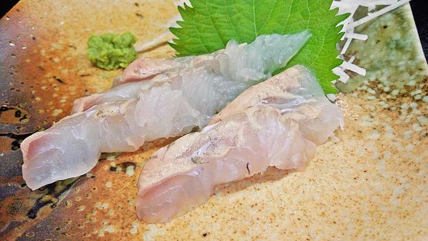 花水木 ( 成増 ) 平目刺身  2020/08/01