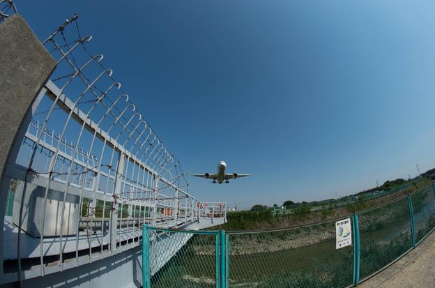 伊丹空港ランディング1