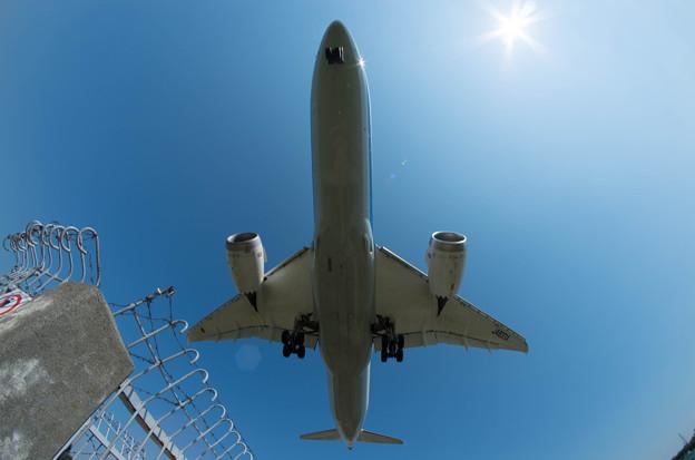 伊丹空港ランディング5