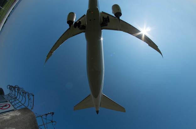伊丹空港ランディング7