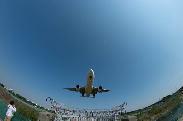 伊丹空港ランディング11