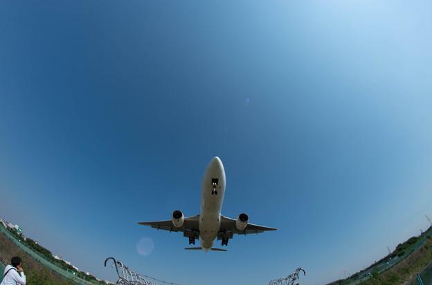 伊丹空港ランディング12