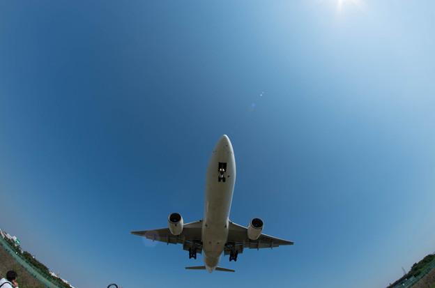 伊丹空港ランディング13