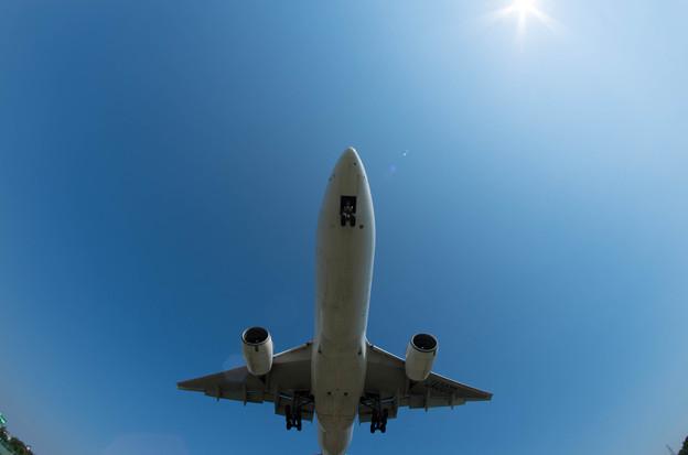 伊丹空港ランディング15