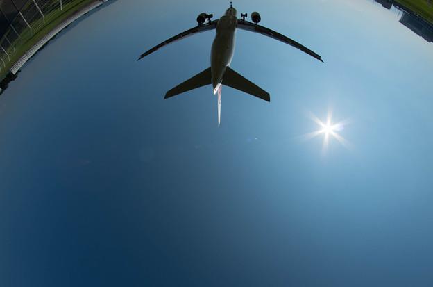 伊丹空港ランディング19