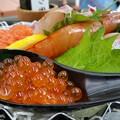 写真: 海鮮丼をどうぞ