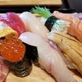 写真: ぷりっぷりっのいくらの入ったお寿司