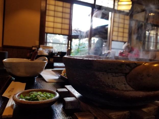 写真: 温か、お鍋