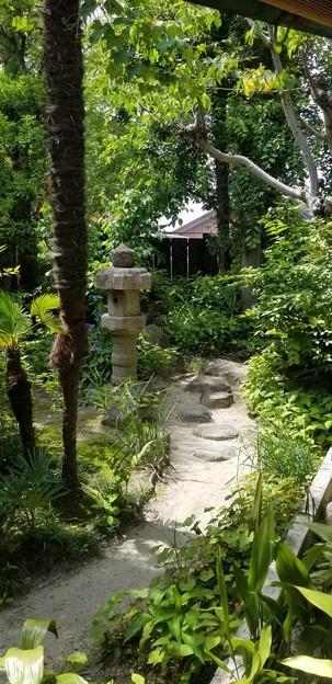 古民家のお庭