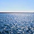 写真: キラキラの海