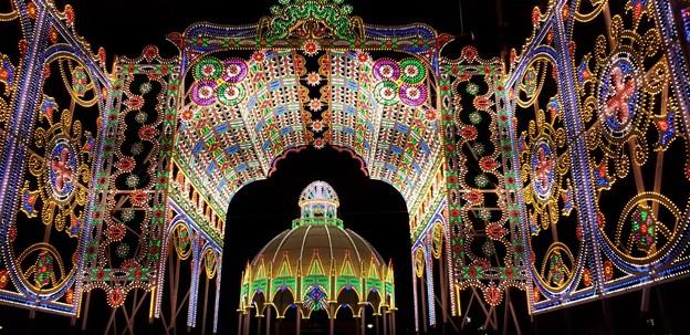 ルミナリエ、光の宮殿