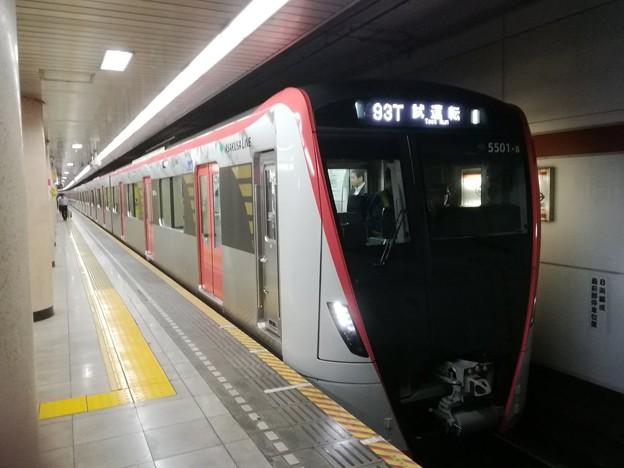 都営浅草線 試1393T:5501F