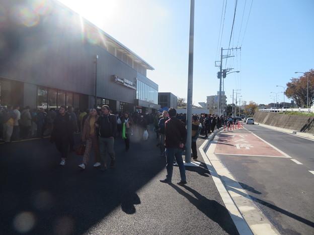羽沢横浜国大駅(環状2号バス停付近)