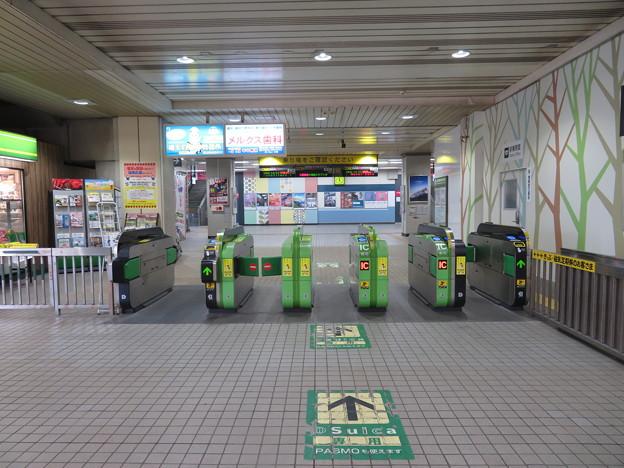 新習志野駅 改札口