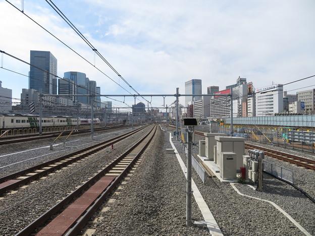 【高輪ゲートウェイ駅】京浜東北線北行・山手線外回り