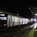 Photos: 夜の千葉中央駅を行き交う3000形