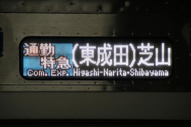 【通勤特急|(東成田)芝山】