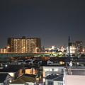 Photos: 東京都葛飾区の夜景 - 青砥駅下りホームより