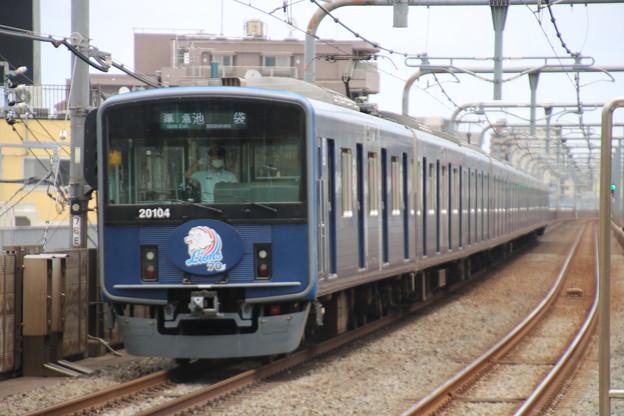 西武20000系20104F