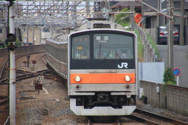 205系M6編成(京葉車8両)