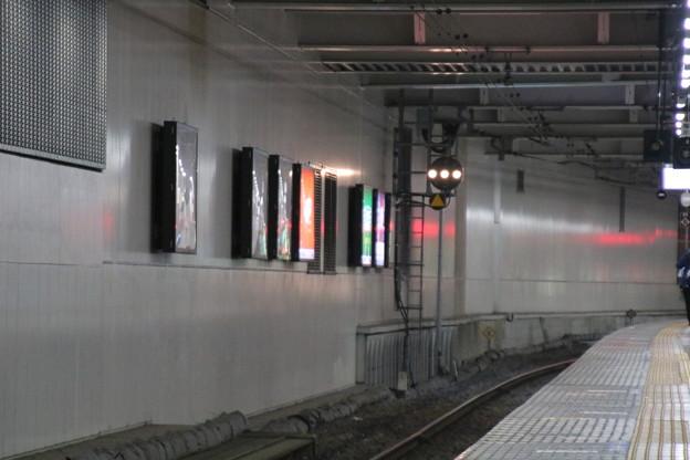 千葉駅6番線で回9182Mを撮るための構図練習