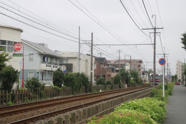 京成電鉄千葉線みどり台~西登戸間