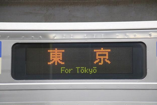 E217系 行き先表示部分【東京】