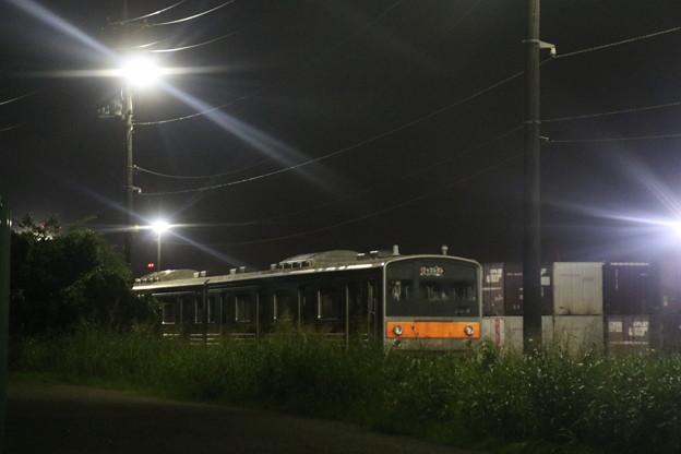 Photos: 205系京葉車8両(M4): インドネシア向け譲渡輸送