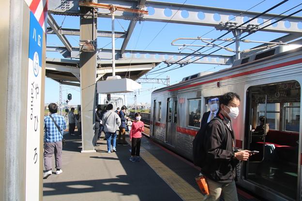 八広駅と京成3600形