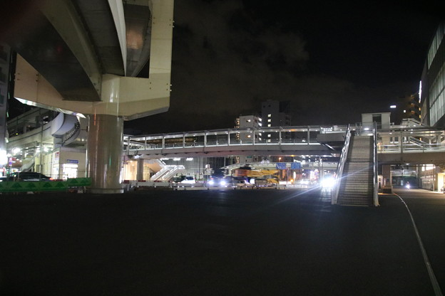 京急蒲田駅 - 東口; 旧分岐点付近より南方方面