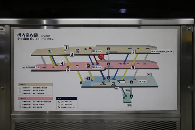 京急蒲田駅 構内図