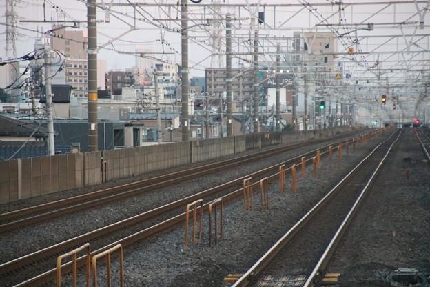 鉄道撮影地 下総中山駅津田沼方より西船橋方向