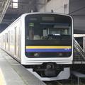 姉ヶ崎駅 209系 夜間留置