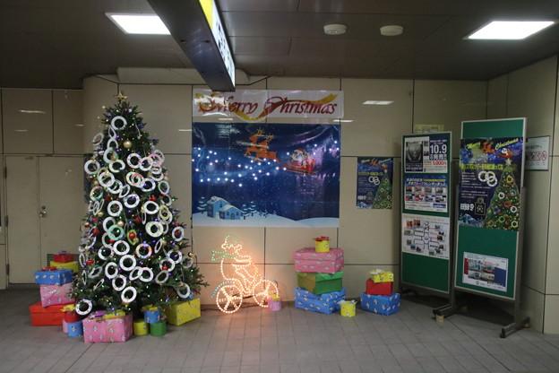 Photos: 京成千葉駅 クリスマス飾り