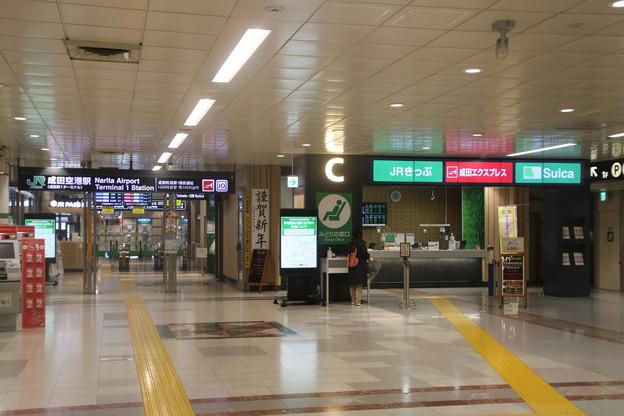 成田線 成田空港駅