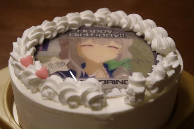 プリロール誕生日ケーキ 森野真理