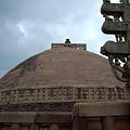 写真: インド最古の仏塔