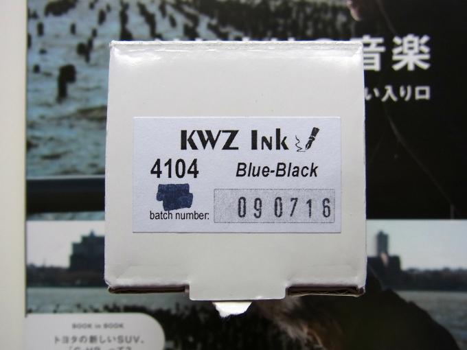 KWZ Ink BlueBlack