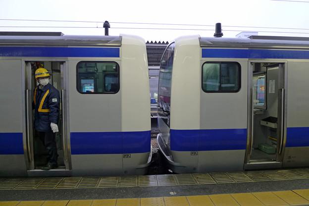 常磐線E531系@土浦駅