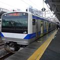 写真: 常磐線E531系@水戸駅