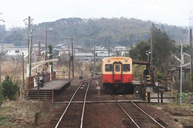 小湊鐵道海士有木駅