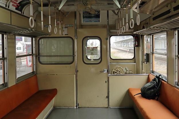 小湊鉄道キハ200の車内